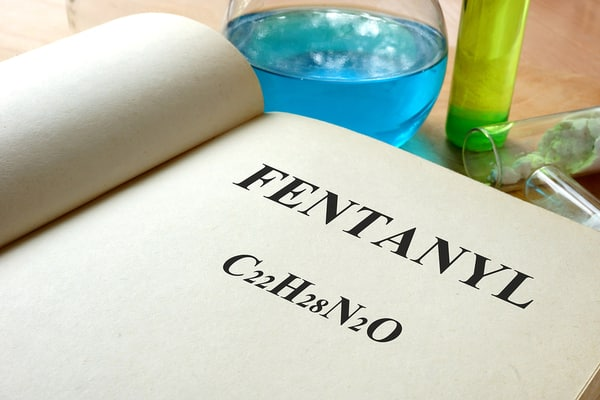 fentanyl chemical markup in book