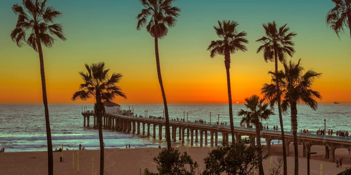 A beach in California where hundreds of patients have died in rehab centers