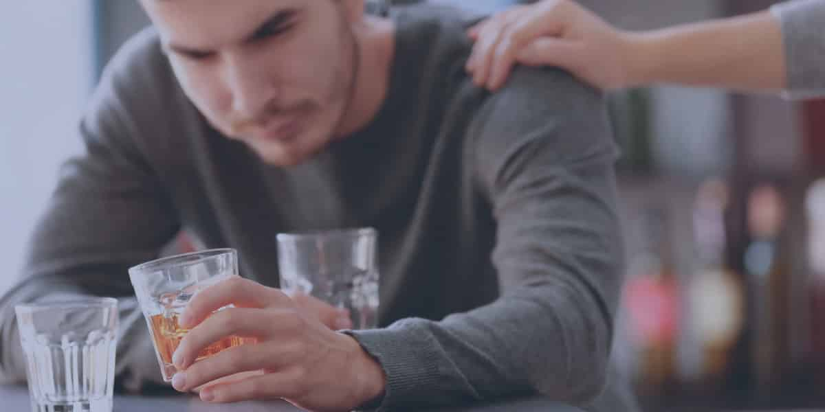 Man drinking more than usual due to developing an alcohol tolerance